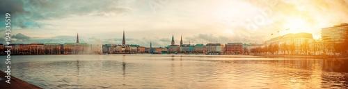 Fotomural  City of Hamburg, Germany