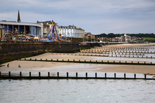 View Northwards Of Bridlington Bay And Amusements