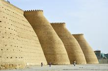 City Walls, Ark Fortress, Bukhara, Uzbekistan