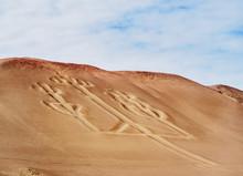 Candelabro De Paracas Geoglyph, Paracas National Reserve, Ica Region, Peru