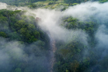 River Valley And Jungle In Rur...