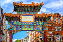 London China Town Entrance Gat...