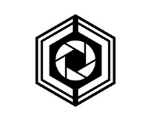 Black Hexagon Camera Photo Photography Photographer Photographic Image Vector Icon