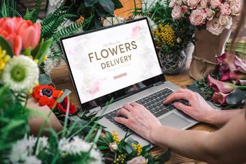 Yong cvjećara pomoću sučelja internetske cvjećare