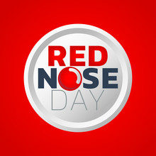 Red Nose Day Icon Design, Medi...