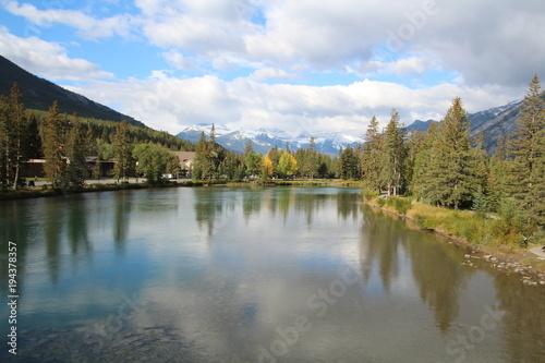 Wide Bow River, Banff National Park, Alberta