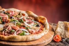 Pizza. Tasty Fresh Italian Piz...