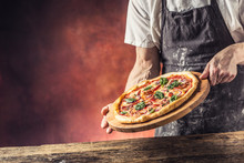 Chef And Pizza. Chef Offering ...