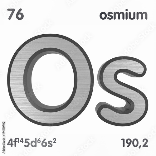 Osmium os chemical element sign of periodic table of elements 3d osmium os chemical element sign of periodic table of elements 3d rendering urtaz Gallery
