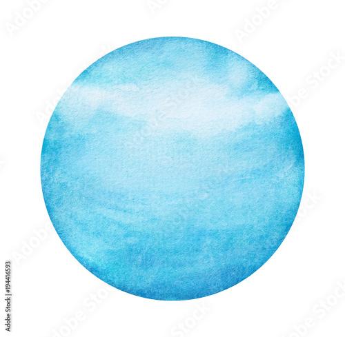 Fotomural Uranus Planet Paint