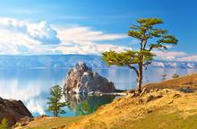 Baikal Lake. Olkhon Island. Be...