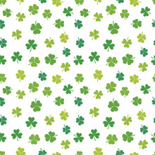 St. Patrick's Day Vector Shamr...