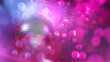 canvas print picture - Party atmosphere with disco ball