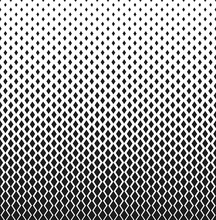 Abstract Geometric Pattern With Rombuses. Vector Background. White And Black Ornament. Graphic Modern Pattern