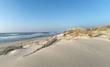 canvas print picture plage d'Hourtin sur  le littoral de Gironde