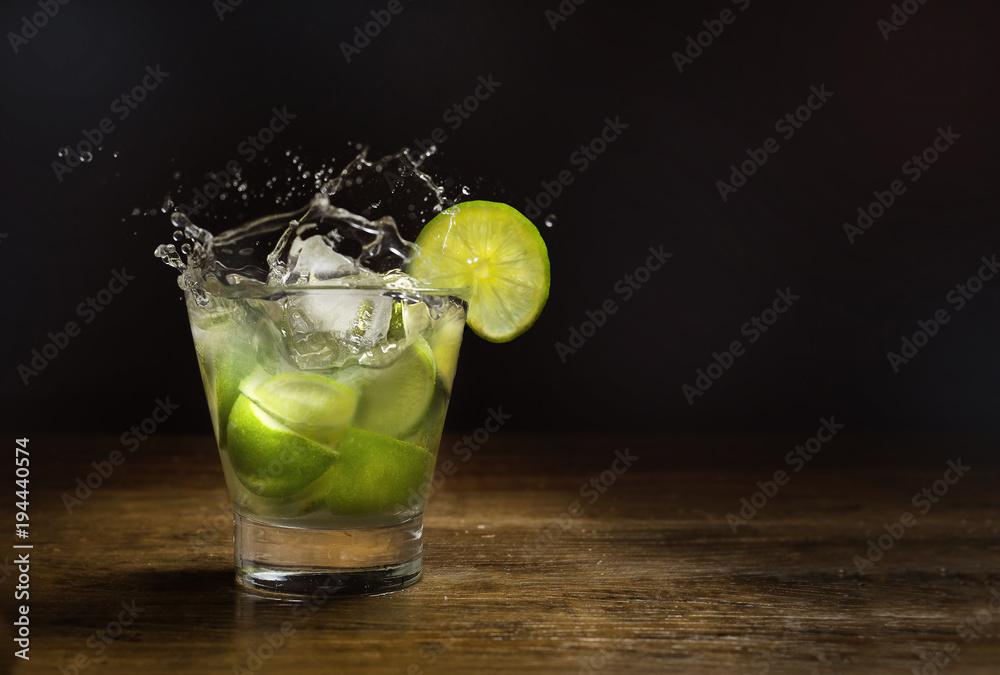 Fototapety, obrazy: Brazilian Drink, Caipirinha