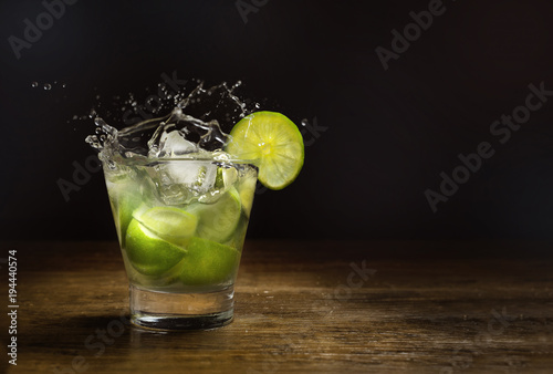 Photo  Brazilian Drink, Caipirinha