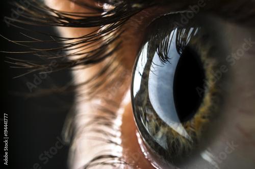 Photo Auge Nahaufnahme
