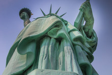 Statue Of Liberty Seen From Be...