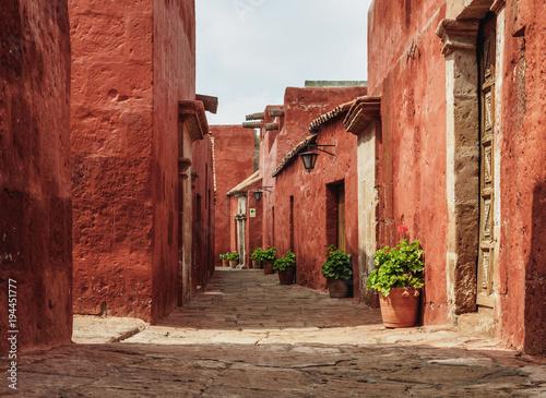 Fotomural  Toledo Street, Santa Catalina Monastery, Arequipa, Peru