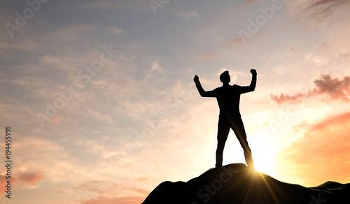 Slika na platnu Business success