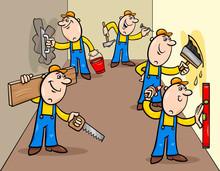 Manual Workers Or Decorators C...