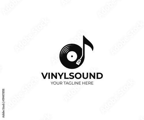 Fotografía  Music logo template