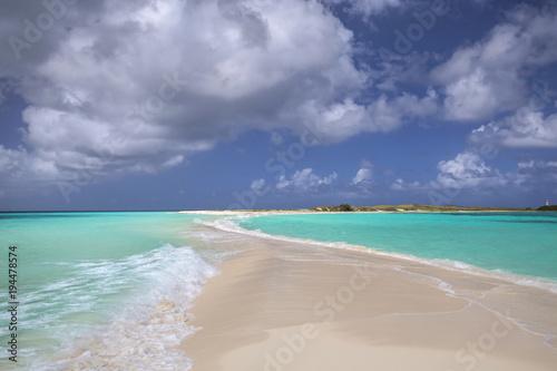 Keuken foto achterwand Zuid-Amerika land Cayao de Agua, Los Roques archipelago, Venezuela