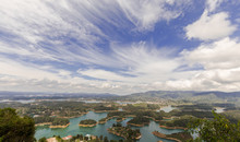 Guatape Colombia 2018-02-20 A Beautiful Lookout Over The Lagoon