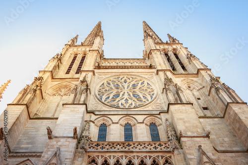 Architectural detail of the Cathedral Saint Andre de Bordeaux Wallpaper Mural