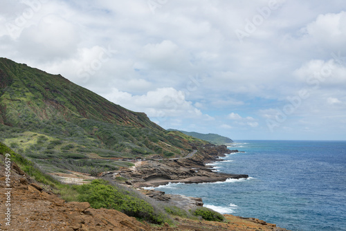 Tropical Cliffs, Coast and Shoreline