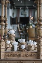 Beautiful Composition Of Tea Set