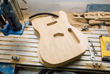 Electric Guitar Body Processed...