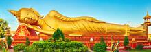 Reclning Buddha. Vientiane, La...
