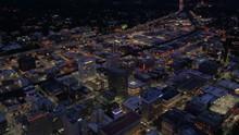 Aerial Washington Spokane June 2017 Night 4K Inspire 2 ProRes