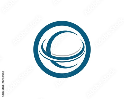 Technology Circle Logos Symbols And Vector Buy This Stock Vector
