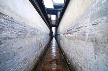 中国の古鎮・西塘の路地