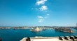 Grand Harbor in Valletta Malta 4k Time Lapse