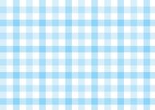 ガンクラブチェック-ブルー