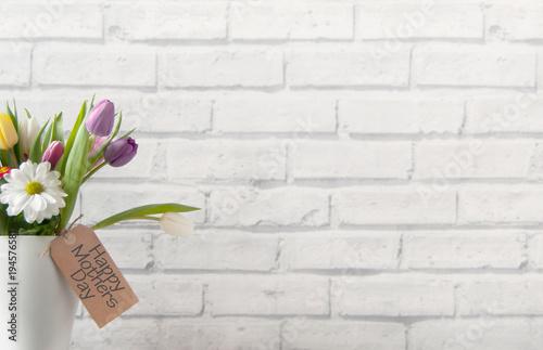 Spring gift flowers