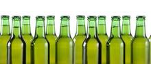 Botellas De Cerveza Aisladas E...