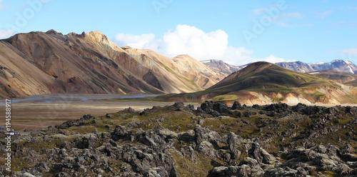 Papiers peints Piscine Landmannalaugar in Iceland