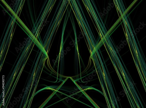 Fotobehang Macrofotografie Abstract fractal illustration. Design element for book covers, presentations layouts, title and page backgrounds.