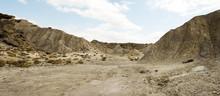 Desert Tabernas. Landscape