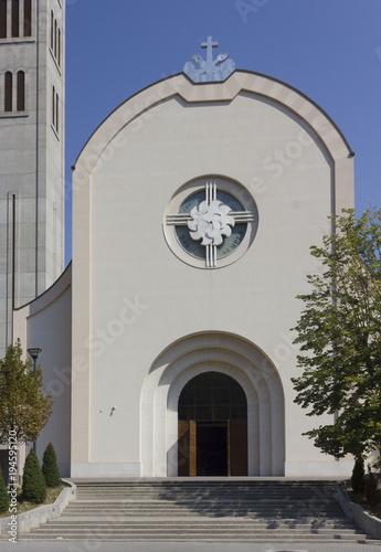 Photo  The catholic church of St