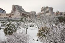 Snow In Scampia - Naples - IT