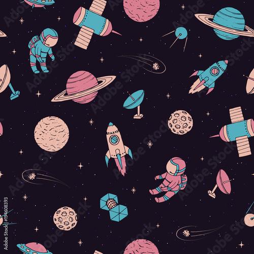 wektor-wzor-z-kosmonautow-satelity-rakiety-planety-ksiezyc-spadajace-gwiazdy-i-ufo-w-szkicowy-styl-elementy-kosmiczne-na