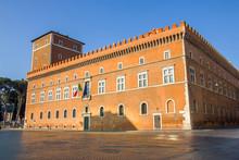 The Palazzo Venezia, Rome, Italy