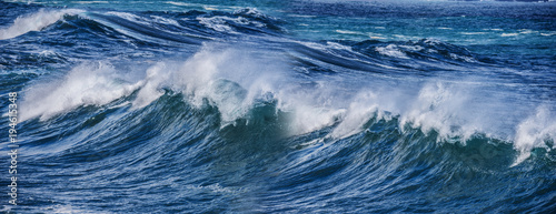 Stickers pour porte Eau big sea wave