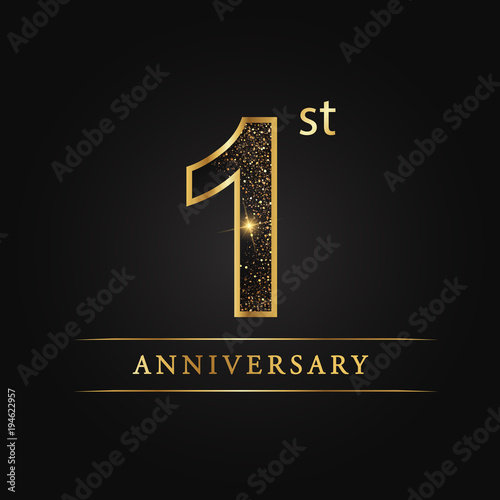 anniversary aniversary first years anniversary celebration logotype 1st anniversary logo buy this stock vector and explore similar vectors at adobe stock adobe stock anniversary aniversary first years